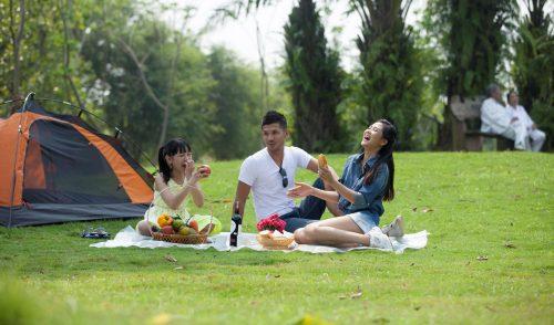 Những địa điểm cắm trại cuối tuần ở Hà Nội bạn nên biết