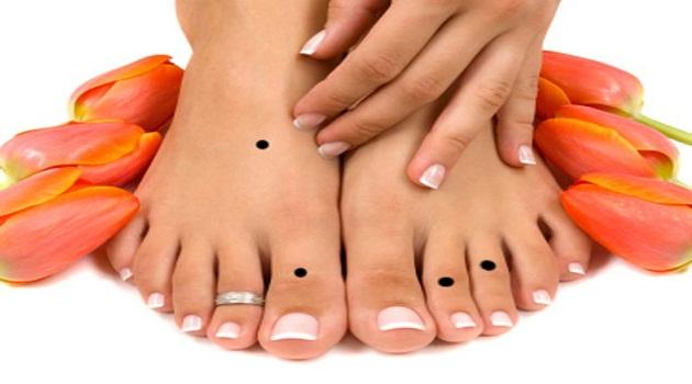 Những ý nghĩa nổi bật của nốt ruồi ở ngón chân